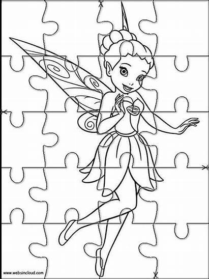 Stampare Puzzle Puzzles Colorear Trilli Segreto Ali