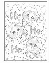 Christmas Purr Fect Coloring Books Bloglovin Idays Howl Giveaway Sample sketch template