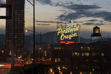 portland oregon things protest sign ceo gaps worker tax companies pay papazian david getty thread welcome
