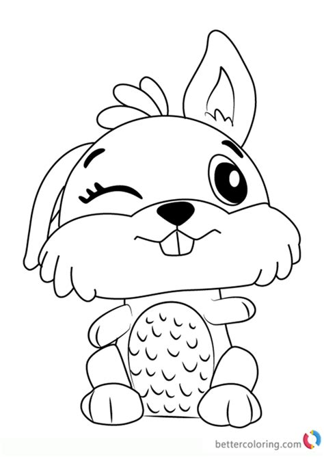 bunwee  hatchimals coloring pages  printable