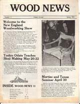 wood news woodworking newsletter archive