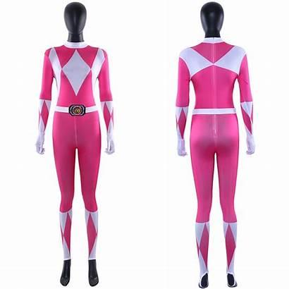 Ranger Rangers Power Pink Cosplay Kimberly Mighty