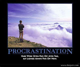 MOTIVATIONAL POSTERS: PROCRASTINATION