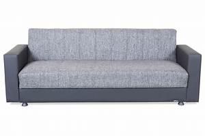Sofa Zum Halben Preis : seher 3er sofa nadine mit schlaffunktion schwarz sofas zum halben preis ~ Bigdaddyawards.com Haus und Dekorationen