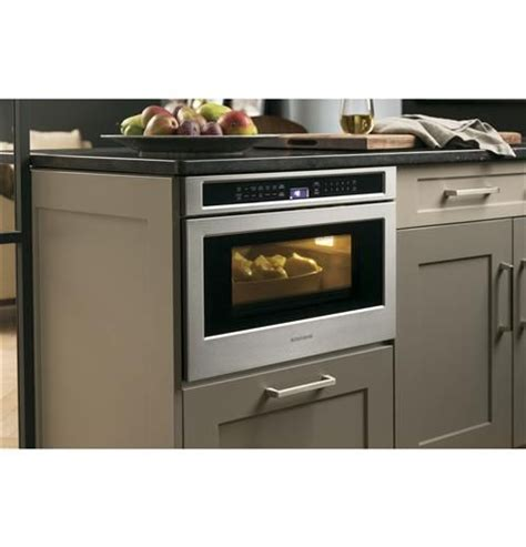 zwlsjss monogram  cu ft drawer microwave monogram appliances microwave drawer