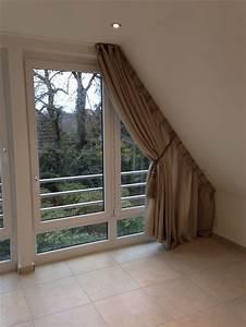 Vorhang Für Dachschräge : wir bekommen auch an ihre dachschr ge einen vorhang dran vorh nge pinterest ~ Markanthonyermac.com Haus und Dekorationen