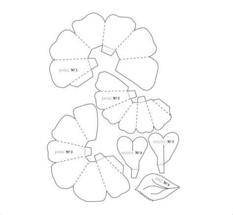 3d flower template 20 flower petal templates pdf vector eps free premium templates