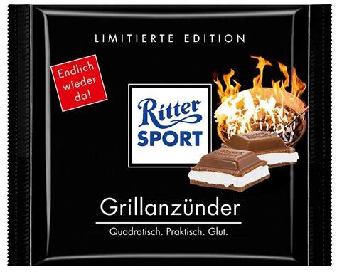 ritter sport schokolade grillanz 252 nder bjoernk
