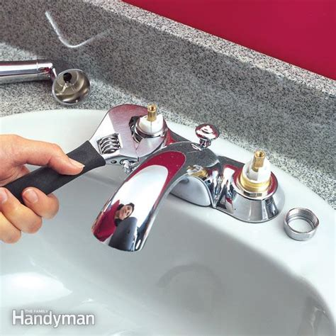 quickly fix  leaky faucet cartridge  family handyman
