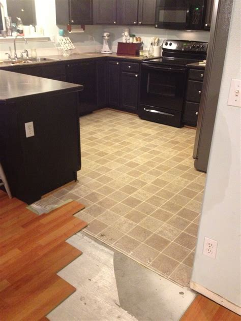 Can Laminate Flooring Be Laid Over Tiles