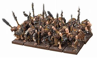 War Ratkin Kings Vanguard Mantic Spears Demonic
