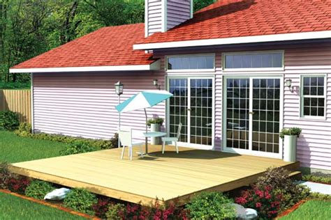 project plan  easy patio deck