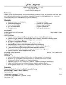 Free Law Enforcement Resume Example Writing Resume