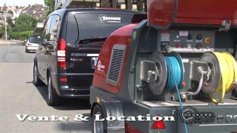 nettoyage siege auto vapeur machine haute pression eau chaude et vapeur remorque de