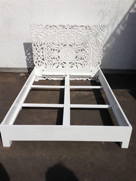 Bett 200x200 Weiß Holz by Bett Ornament Mangoholz 140x200 Holz Shabby Wei 223