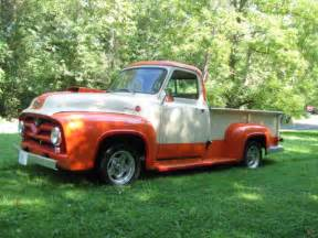 1955 ford f250 up all steel rust free in driver quality condition for sale