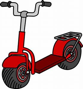 Free to Use & Public Domain Scooter Clip Art