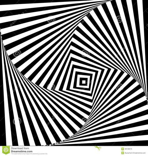Twisted Image Twisted Square Pattern Stock Illustration Illustration Of