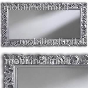 Best Specchio Cornice Argento Images Harrop Us Harrop Us