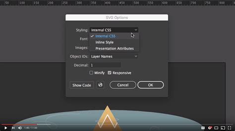 While adobe animate cc does have a robust publish process for each platform it supports, you can also export many types of assets from your projects. Illustrator's SVG export settings explained   Val Head