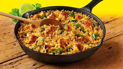 one pan rice meal recipes old el paso