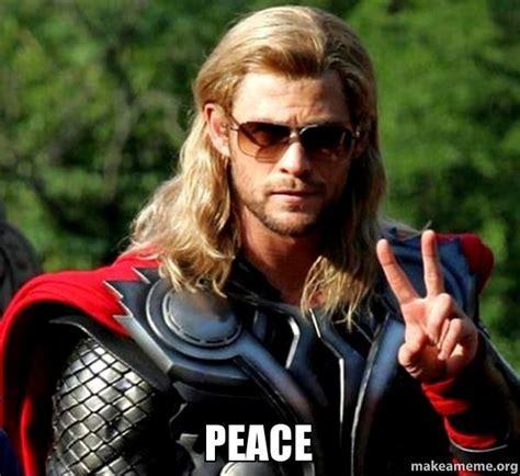 Of Peace Meme - peace make a meme