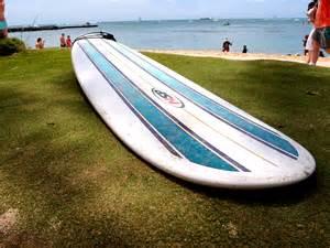 Longboards Surfboard On Beach