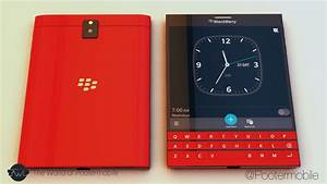 If BlackBerry Passport Came in Red, Blue, White/Gold and ...