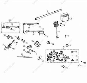 Polaris Atv 2016 Oem Parts Diagram For Electrical