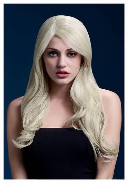 Wig Blonde Nicole Fever Costume Frozen Blond