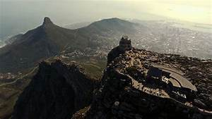 Drone Captures Bird's Eye View Of Cape Town - YouTube