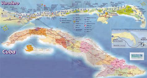 mapa de varadero cuba
