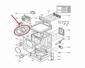 Lg Part  3581er1012a Door Assembly  Oem