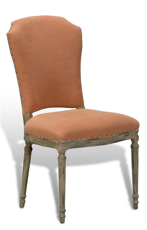 8 casual upholstered dining chair with pastel fabric