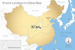 Xi'an Map, Xi'an Tourism Map and Terracotta Army Route Map
