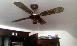 installed my smc laguna in my room vintage ceiling fans