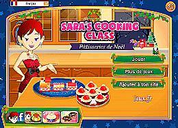 jeu de cuisine de noel pâtisseries de noël école de cuisine de un des