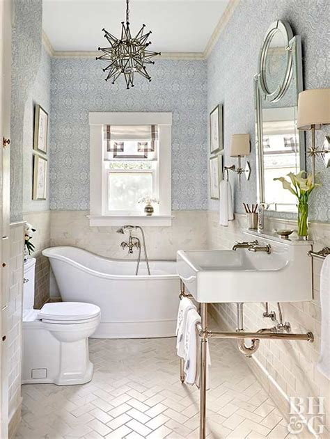 White Bathroom Decor Ideas by Traditional Bathroom Decor Ideas Better Homes Gardens