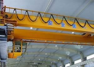 Frequency Inverter Cross Travel Span 30m Workshop Overhead