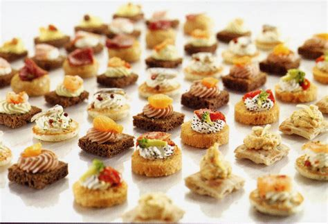 images of canapes photos canapé salé