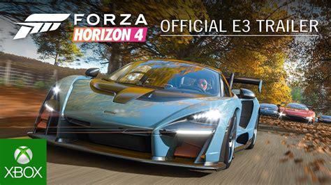 forza 4 horizon forza horizon 4 e3 2018 announce trailer