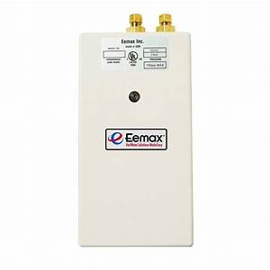 Eemax Single Point 5 5 Kw 240-volt 0 5gpm-2 0gpm Electric Tankless Water Heater-sp55