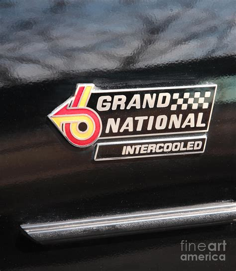 Buick Grand National Logo by Buick Grand National Emblem By William Kuta