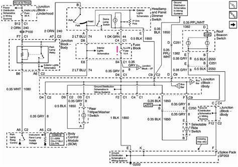 Chevy Tahoe Light Wiring Diagram by I A 2001 Chevy Tahoe The Dashboard Lights