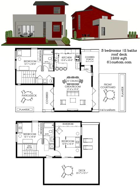 contemporary floor plans for homes modern house plans floor plans contemporary home plans