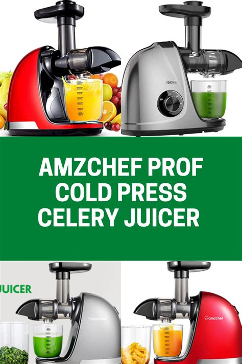 juicer celery machine medical