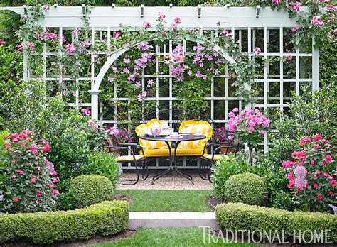 Before And After Enchanting English Garden  Traditional Home