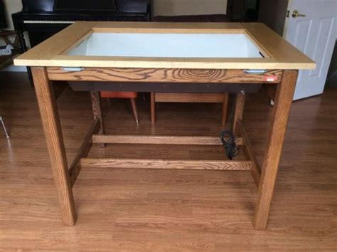 lighted drawing table 96 best images about creative workspace on