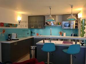 cuisine turquoise et gris obasinccom With bleu turquoise avec quelle couleur 3 quelle couleur choisir pour une cuisine etroite