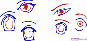 How To Draw Anime Boy Eyes Step By Step
